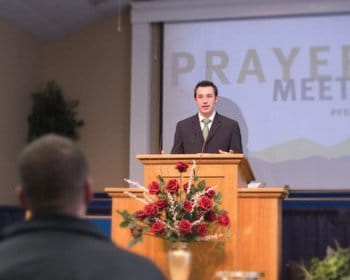 Pensacola Christian College Bible Degrees Student Preaching at Church