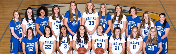 Lady Eagles Basketball 2016-2017