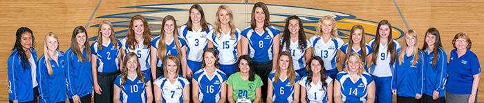 Lady Eagles Volleyball 2016