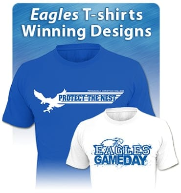 Crowd glowed with excitement at late night eagle mania for Newspaper t shirt designs