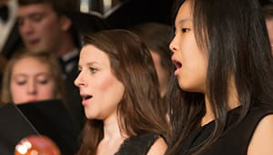 Choral Concert Reflects Christ's Reign